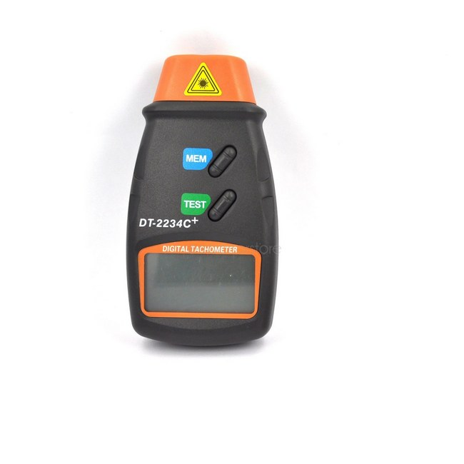 Image 3 - 1 pc High Quality Non Contact Tach Tool Handheld Digital Laser Photo Tachometer Tester RPM Motors-in Speed Measuring Instruments from Tools