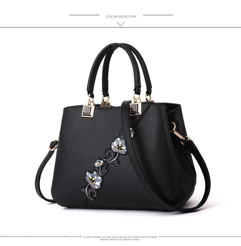 18 New women Handbags Fashion leather handbags Shoulder Bag women top-handle bags 8
