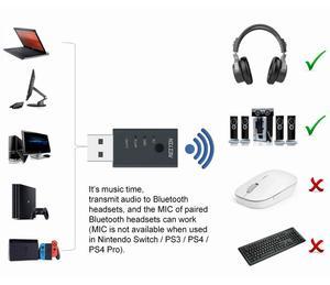 Image 2 - USB Bluetooth 5.0 Audio Transmitter CSR8675 aptX HD Sound Card Adapter for PC laptop Game Device Stereo Transmisor