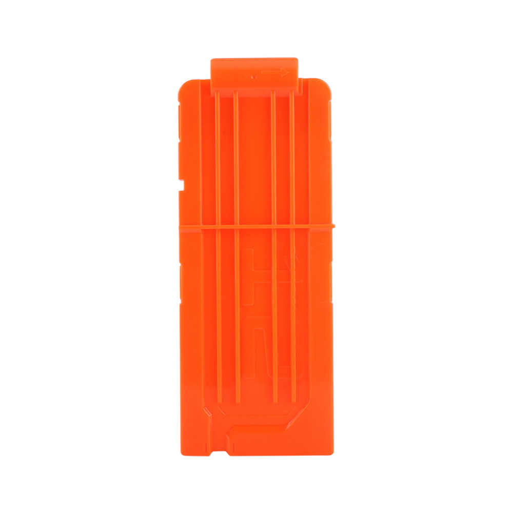 1 STKS 12 Reload Clip Tijdschriften Ronde Darts Vervanging Plastic Tijdschriften Speelgoed Pistool Zachte Kogel Clip Oranje Voor Nerf