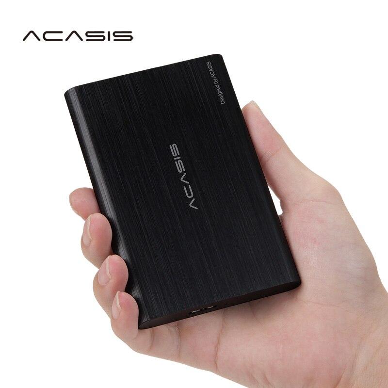 ACASIS 320GB External Hard Drive USB3.0 Hard Disk Storage Devices High Speed 2.5'' HDD Desktop Laptop Hd Externo Super Deals