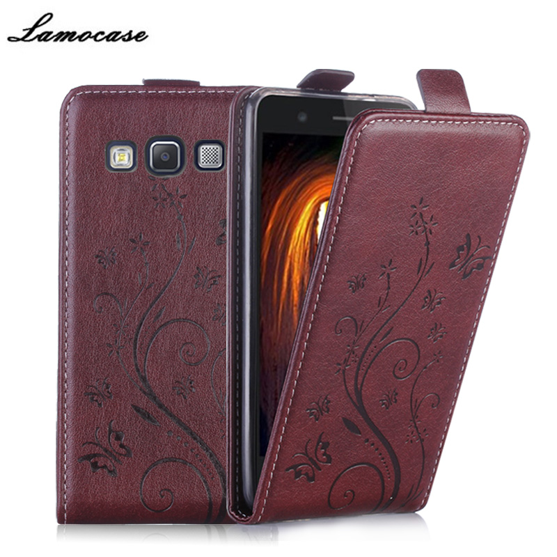 For samsung a3 Phone Case Luxury Retro vertical Flip PU Leather Wallet Cover For Samsung Galaxy A3 2015 A300 SM-A300F Case JRYH