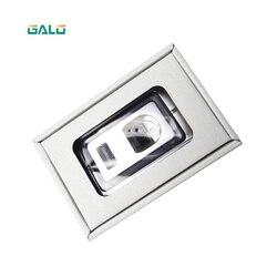 Cassa del Metallo serratura Della Porta di Impronte Digitali Biometrico Standalone sistema di Controllo Accessi
