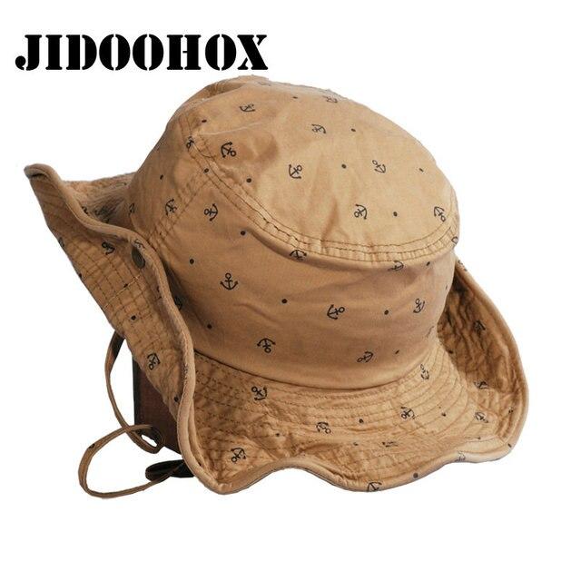 JIDOOHOX  marche Panama Cappello Della Benna Per Le Donne Degli Uomini di  Estate Boonie f7be62583b2b