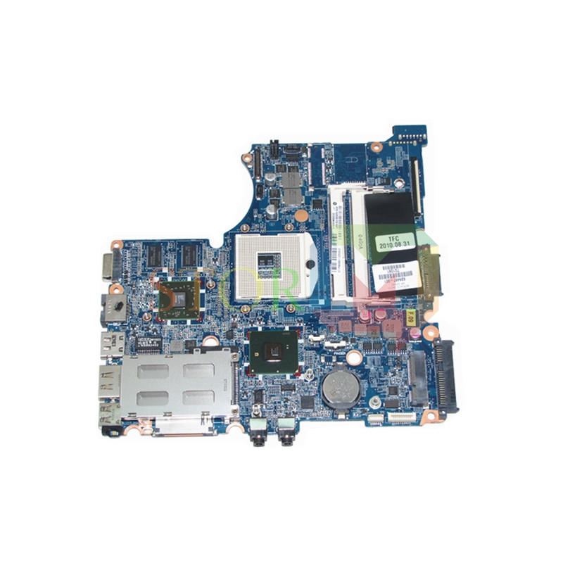 NOKOTION for hp probook 4421s laptop motherboard 628487-001 HM57 HD 5430 DDR3 613294 001 laptop motherboard for hp probook 6450b 6550b hm57 intel hd graphics ddr3 mainboard