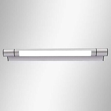 ФОТО Simple Modern LED Bathroom Mirror Light,50CM 12W Bulb Included Metal Painting,For bathroom Dressing Room,AC 90V~260V