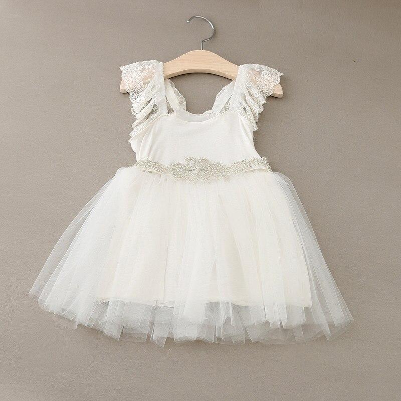 Popular Toddler Flower Girl Dresses White-Buy Cheap Toddler Flower ...