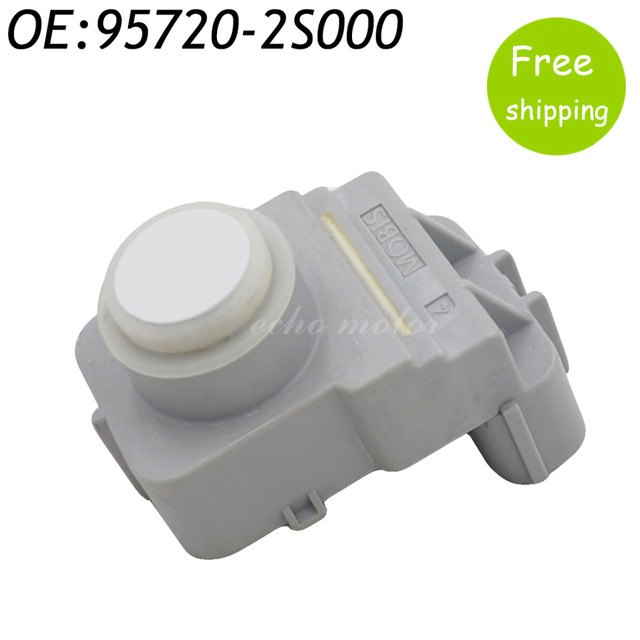 New Rear PDC Ultrasonic Parking Sensor For 09-13 Hyundai Tucson IX35  95720-2S000 957202S000 White