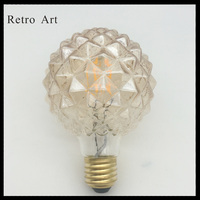 Vintage Edison LED Light Bulb Wholesale G95 Pineapple E27 Antique Decoration LED Filament Light Bulbs