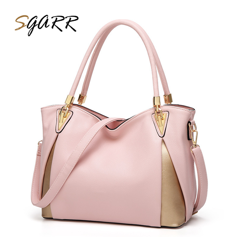 SGARR Women Tote Soft PU Leather Bag Luxury Designer Handbags Large Capacity Ladies Shoulder Bags Bolsas Fashion Crossbody Bags