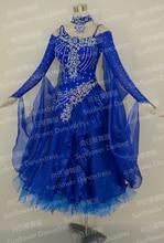 Waltz Tango Ballroom Dance Dress Girls Women Modern Dance Perform Costume Wear Ballroom Standard Dance Dress