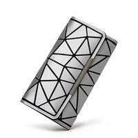 2018 Bao Bao Wallet Ladies Cards Bag Fashion Geometric Women Bags Noctilucent Luminous Baobao Purse Long