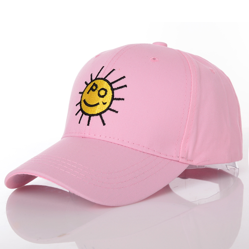 Fashion Sun pattern Hats For Women Snapback Baseball Caps Men's Golfs cap Hip-Hop hat  Casquette Bone Gorras cotton touca