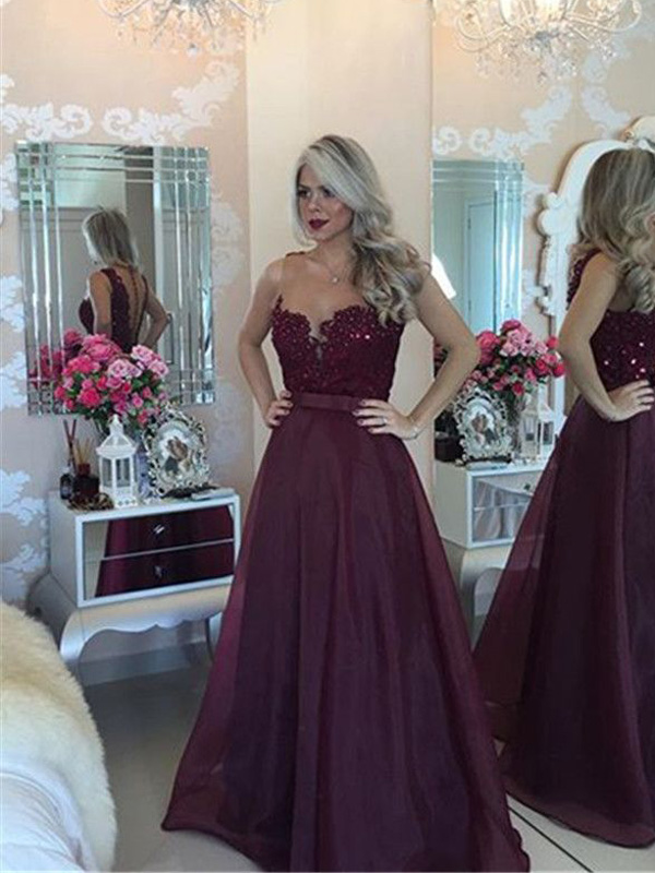 Popular Burgundy Prom Dresses Buy Cheap Burgundy Prom