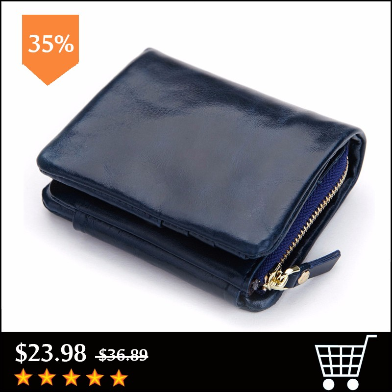New-Design-Fashion-Multifunctional-Purse-Genuine-Leather-Wallet-Women-Short-Style-Cowhide-Purse-Wholesale-And-Retail