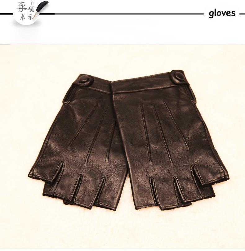 BISON DENIM Best Fashion Nappa Genuine Leather Gloves for mens Texting Driving Cashmere Lining