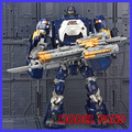 FÃS MODELO IN-STOCK weijiang Transformação robô de metal feito TF Hound azul cor 23 cm alta versão do filme freeshipping