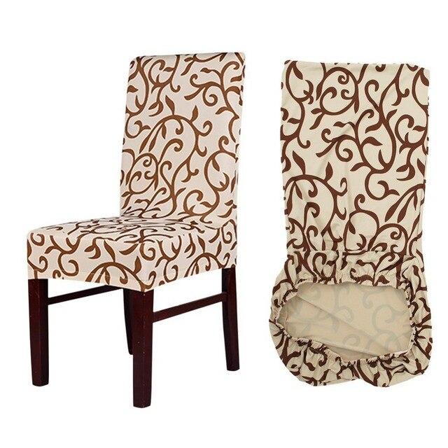 Meijuner زهرة الطباعة إزالة حالة كرسي مقعد غطاء كبير مرونة الغلاف المطبخ الحديث تمتد غطاء كرسي لل ولائم