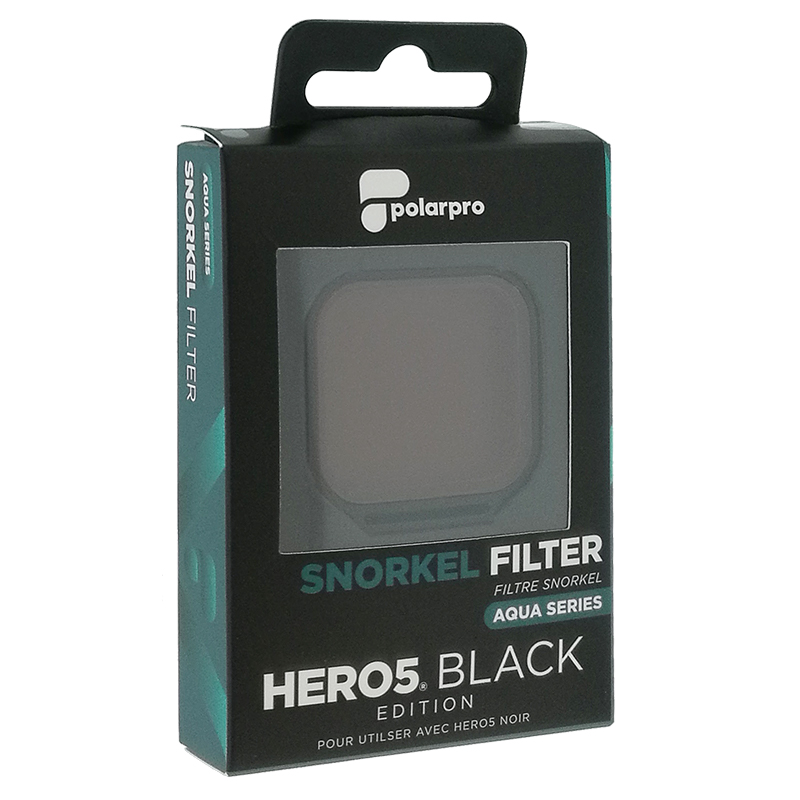 Filtre tuba PolarPro pour GoPro Hero7/Hero6/Hero5 noir