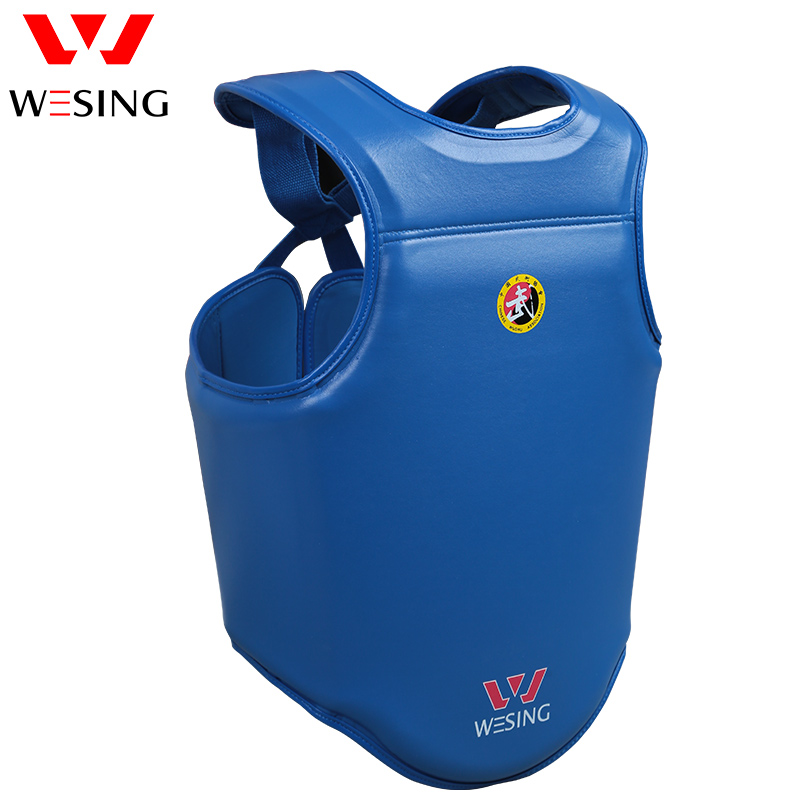 Wesing sanda chest guard 13style kick boxing body shield boxing chest protector wesing boxing kick pad focus target pad muay thia boxing gloves bandwraps bandage training equipment