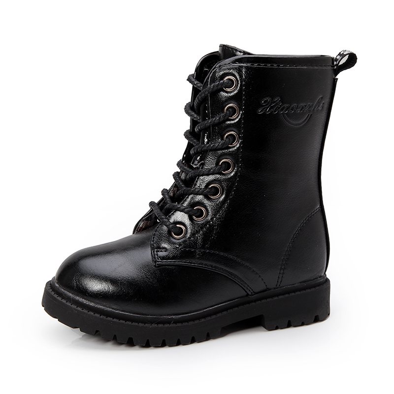 police cosplay boots for children black boots for kids police swat boots tactical boots