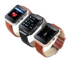 2016 neueste pulsmesser bluetooth 4,0 smart watch smartwatch unterstützung sim-karte für ios android-system smartphone