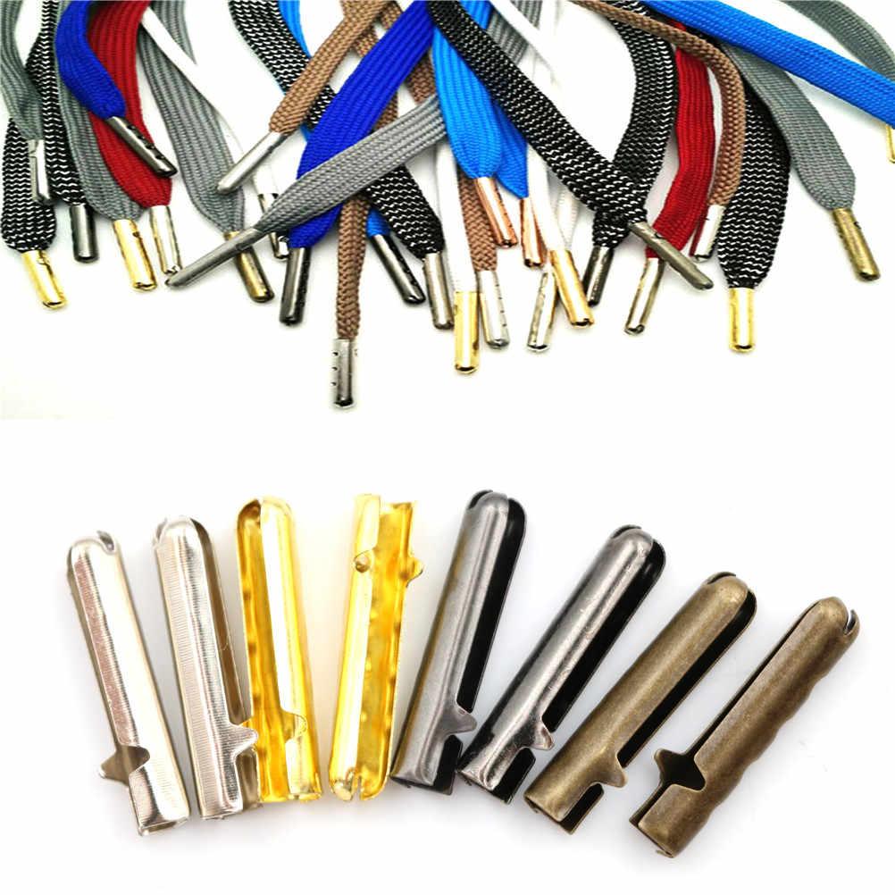 10 шт., мужские и женские наконечники для шнурков, сменные мужские Т-образные наконечники для шнурков, круглые аксессуары для шнурков DIY