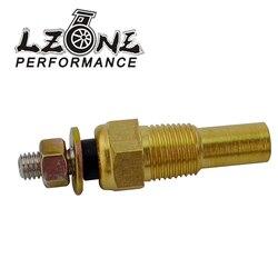 LZONE - 12V 1/8 NPT Racing Car Oil Temp Sensor Water temperature Sensor Water Temp Sensor Gauge Sensor JR-TSU01