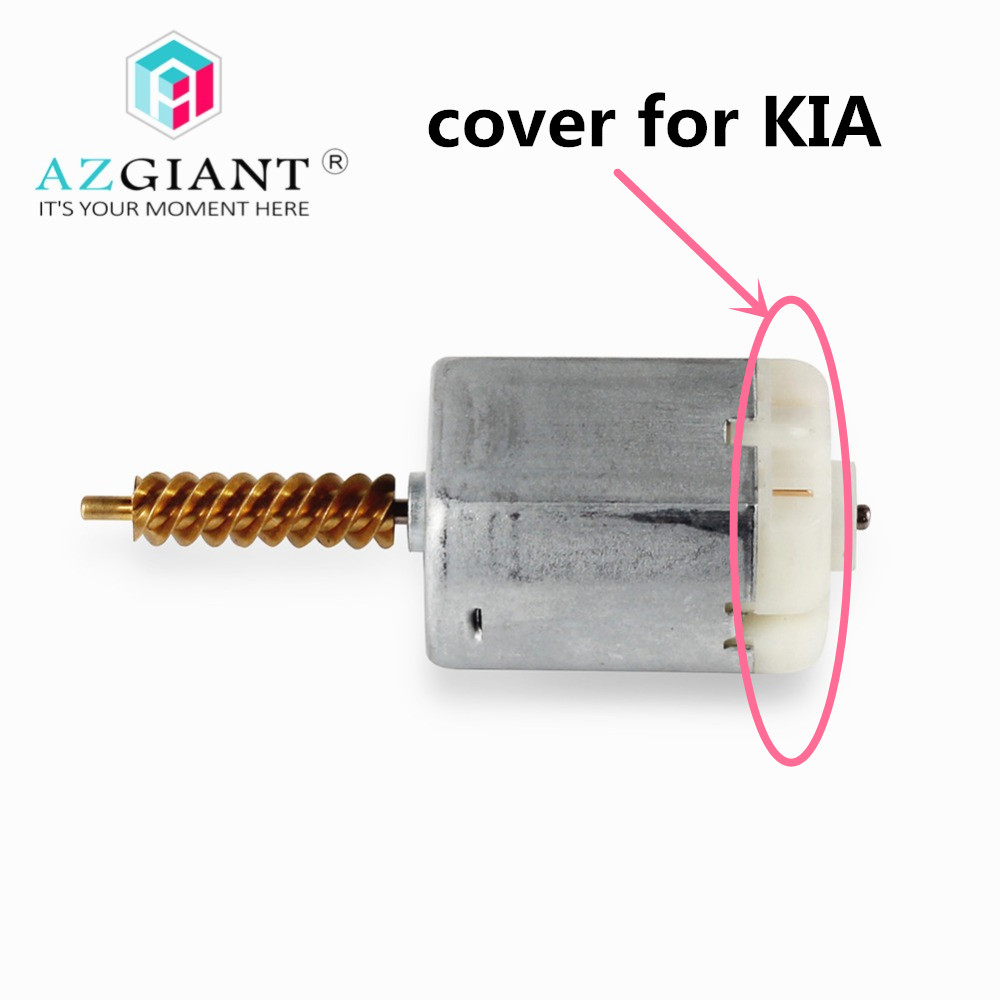 AZGIANT Rear Bearing Cover For Kia Sedona Carnival 2006-2014 #814474D500 Lock Actuator Motor Carbon Brush Holder