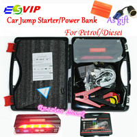 Upgraded Mini Portable 68800mAh 12V Multi Function Jump Starter Car Emergency 4 USB Power Bank Battery