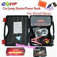 Upgraded Mini Portable 68800mAh 12V Multi Function Jump Starter Car Emergency 4 USB Power Bank Battery