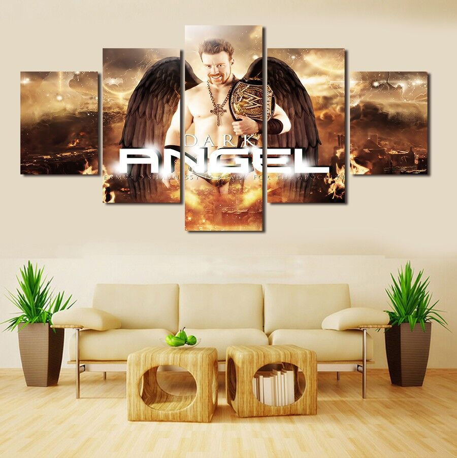 Online get cheap dark angel art alibaba for Angels decorations home