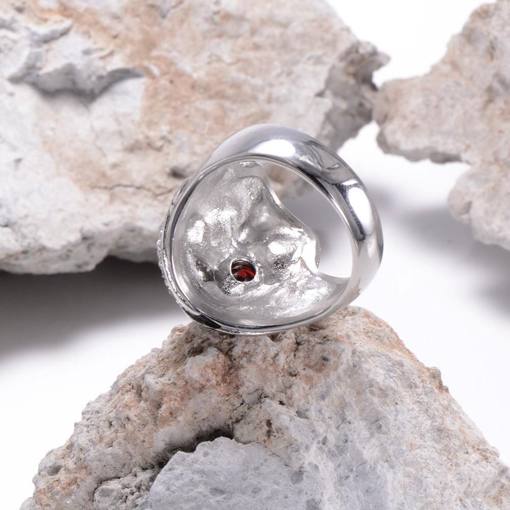 HTB18CawKXXXXXbCXpXXq6xXFXXXg - Skull Shaped Pirate Inspired Ring with Crystals