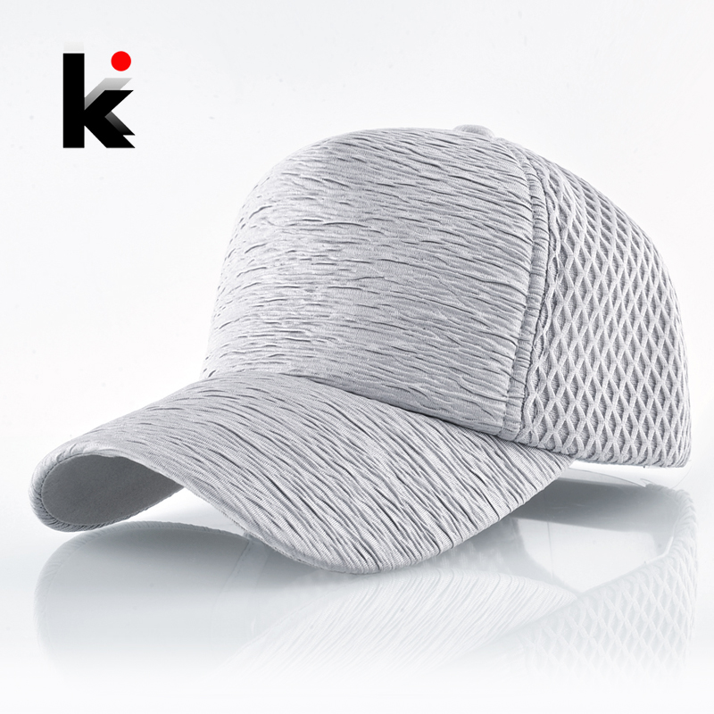 Fashion Baseball Cap Women Solid Summer Breathable Mesh Snapback Hip Hop Hats For Men Outdoor Sport Casual Golf Bone Casquette snapback mesh baseball cap summer outdoor sport hats for men women fashion trucker caps boys girls hip hop skateboard casquette