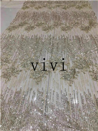 5yards AG01 Champagne gold glitter tulle mesh lace  for evening dress/party/wedding