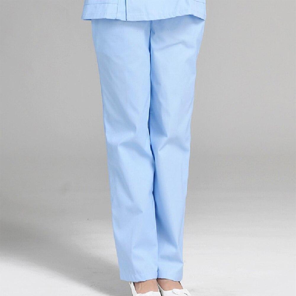 Вбелых медицинских прозрачных штанах фото 358-5