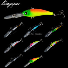1PCS Fishing Lure Hard Bait Tight Wobble Slow Floating Jerkbait High Quality ABS Model 8g 10cm Minnow Crankbait