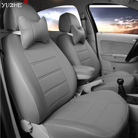 Yuzhe Leather car seat cover For Honda Accord FIT CITY CR V XR V Odyssey Element Pilot 2016~2011 accessories styling cushion