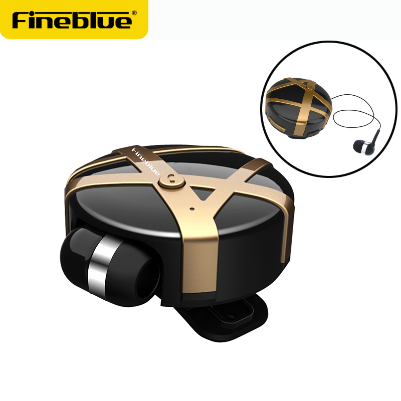 FINEBLUE FD55 Wireless Bluetooth Earphone scalable Headphones Bluetooth Headset Hands-free Earbud with mic Business for Phone