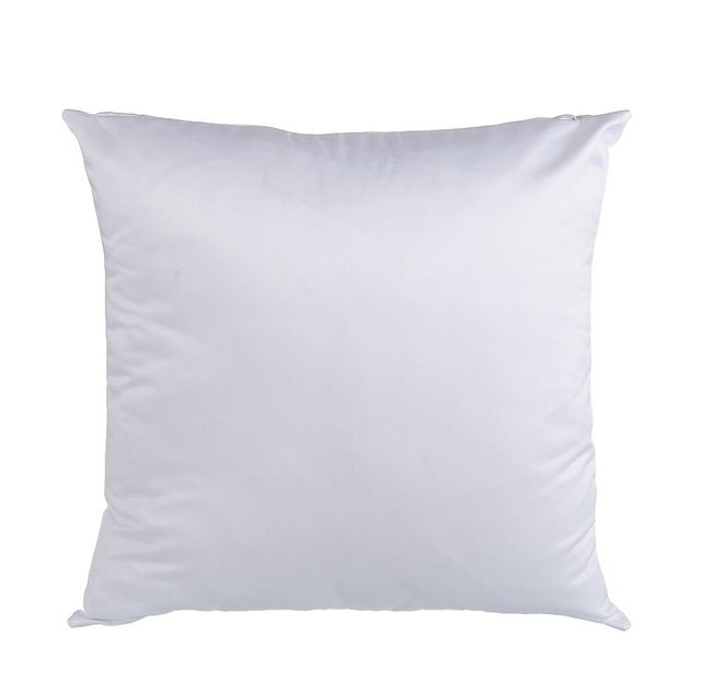 Wholesale Solid White Blank Velvet Cushion Cover Heat Thermal Adorable Blank Pillow Covers Wholesale