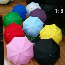 1/6 Scale Sence Accessories 9 Colors Umbrella Model For 12″Phicen Action Figures Doll Toys Collection Gift