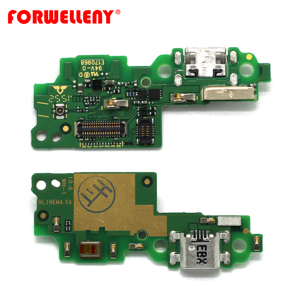 For huawei honor 5C USB Charger Charging port PCB bottom Board circuits with Mic