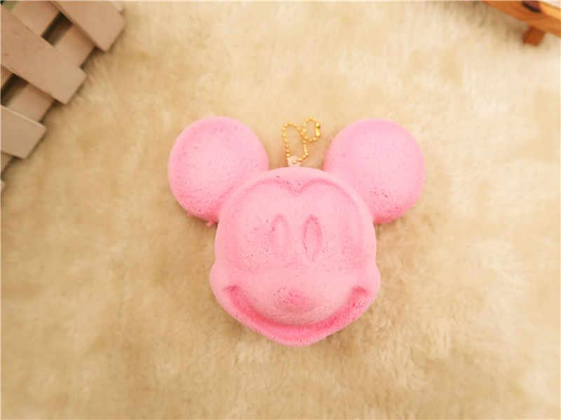 Kuutti мягкими 1 шт. новые оригинальные Розовые Шоколадные мыши мультяшный зверь хлеб Мягкое сотовый телефон пристяжной талисман медленно поднимающийся