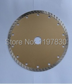 Free shipping of 230*25.4/22*2.6*10mm cold sintering diamond turbo segmented saw blades  for cutting marble/granite/tile/cutting  цены
