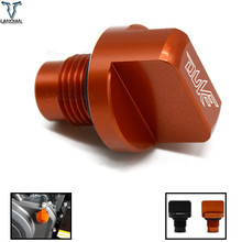 CNC Motorcycle Accessories Engine Oil CUP for KTM DUKE 125/200/39  Drain Plug Sump Nut Cup