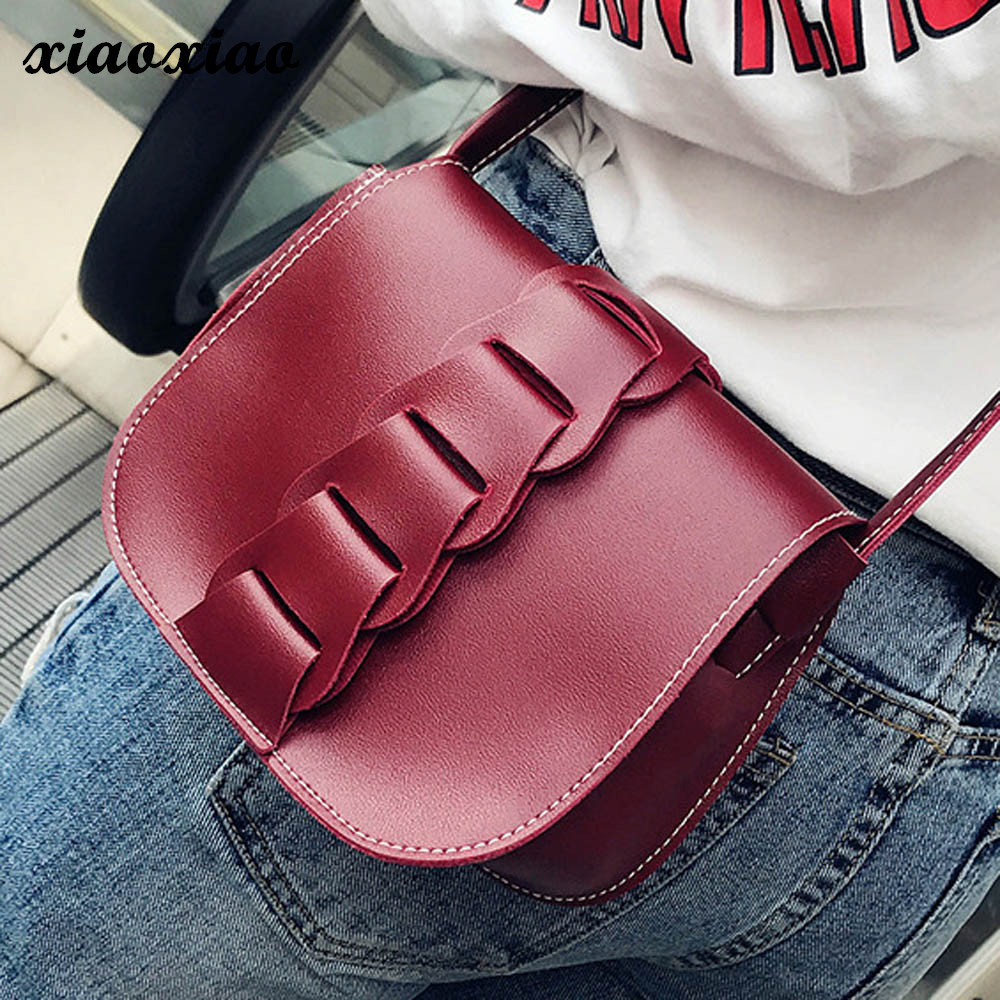XIAOXIAO Ladies Women Shoulder Bags Tote Handbags Young Style Small Women Messenger Bags Fashion Cross-body Bags For Girls M0313 forudesigns new women handbags 3d dachshund dog womens cross body bags animal prints tote female shoulder messenger bags ladies