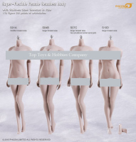 Phicen 1/6 Action Figure Doll S01A /S04B/S07C/S10D 1/6 Pale Color Female Stainless Steel Body Skeleton Seamless Collection Model