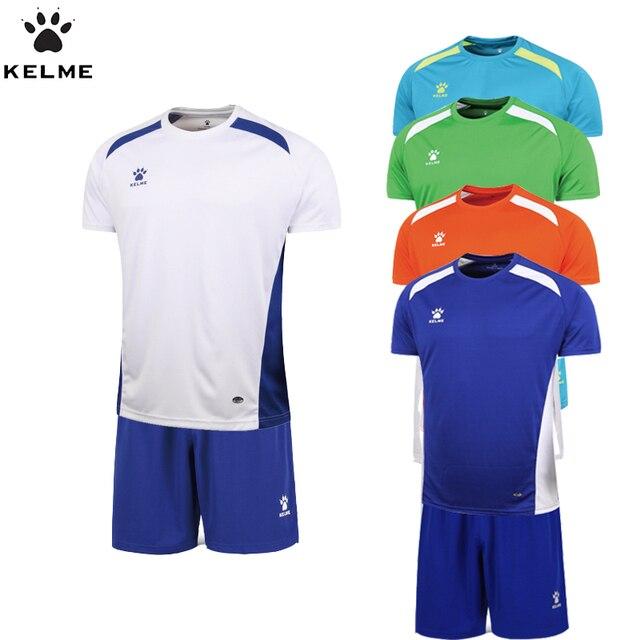 Conjuntos De Uniformes De Futebol Da Equipe Oficial Autêntico Espanha  Hombre KELME Uniformes de Futebol Curtas ac996d2b59b89