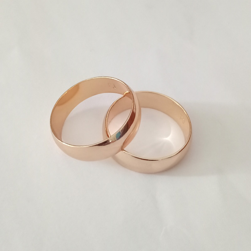 Elegant Rose Gold Rings Rose Gold Rings Without Stones