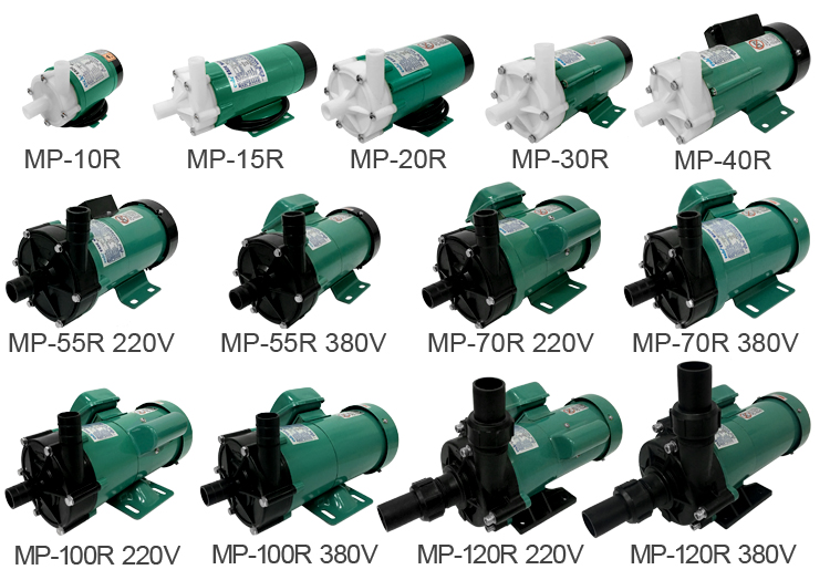 50HZ/60HZ Small Plastic Magnetic Drive Centrifugal Water Pump 220V Electric Magnetic Pump MP-40R/RM 1 2hp 220v 50hz single phase small stainless steel centrifugal water pump sanitary pump beverage pump dishwasher pump